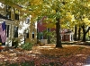 A quintessential New England autumn in Concord,Massachusetts