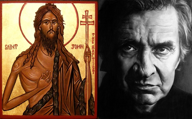 john the baptist and johnny cash