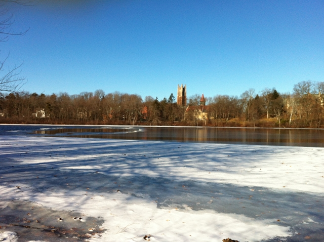 wellesley college in winter