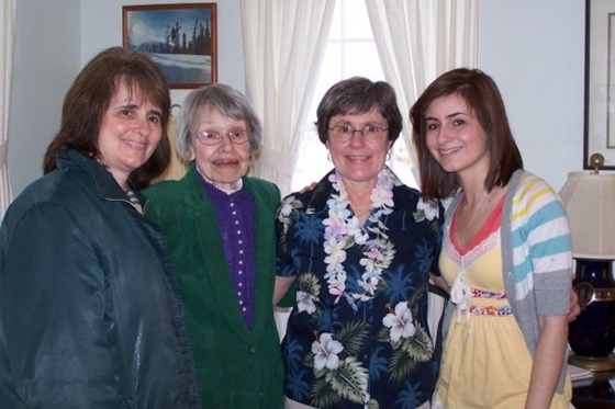 Once there were three generations ... myself, my mother, my sister and my daughter