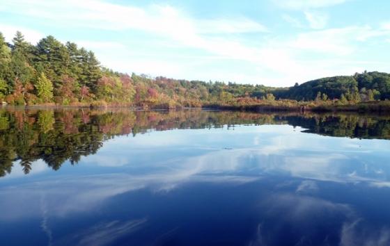 10-640 rocky pond clouds3