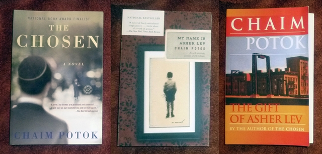 chaim potok books