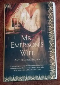 mr. emerson's wife by amy belding brown