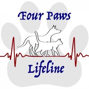 4 paws lifeline logo