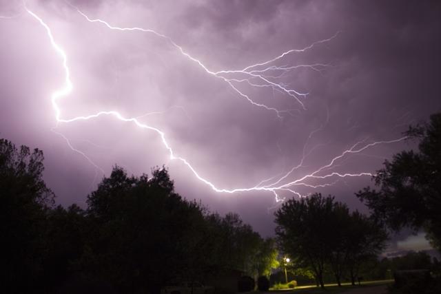 lightning storm Benjamin Benson Flickr Creative Commons